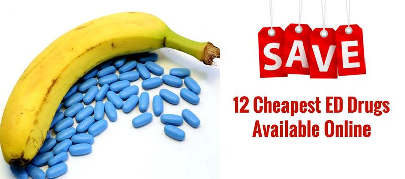Cheapest ED Drugs